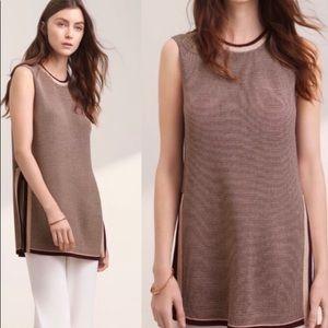 ARITZIA Wilfred Palmier Sleeveless Knit Tunic XS
